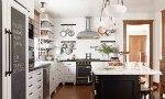 An organized family kitchen
